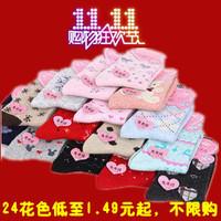 Free Shipping  rabbit fur socks knee-high female thick socks 10pcs/lot