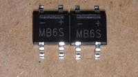 Free Shipping 300PCS MB6S SOP-4 IC