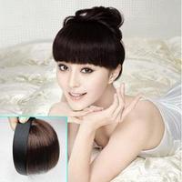 Hair bands real hair bangs false fringe bangs invisible seamless wig piece 461 - 462