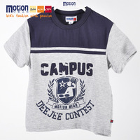 2013 male child 100% cotton short-sleeve o-neck T-shirt comfortable casual o-neck cartoon t-shirt summer