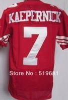 Free Shipping brand men Elite Stitched 49 KAEPERNICK  #7 american football jersey,accapt drop shipping size:M-XXXL