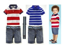Free shipping, Retails, boys clothesset, Boys T shirt+pants,boys summer  clothes set, 2T-7T,1set/lot--JYS76