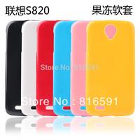 Free Shipping Lenovo S820 Case Silicone Case Lenovo S820 Jelly Case Soft Case Gift Screen Protector