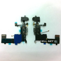 Free shipping for iPhone 5c OEM new Charger dock headphone mic flex cable