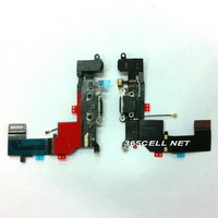 New OEM for iPhone 5c OEM new Charger dock headphone mic flex cable free shipping