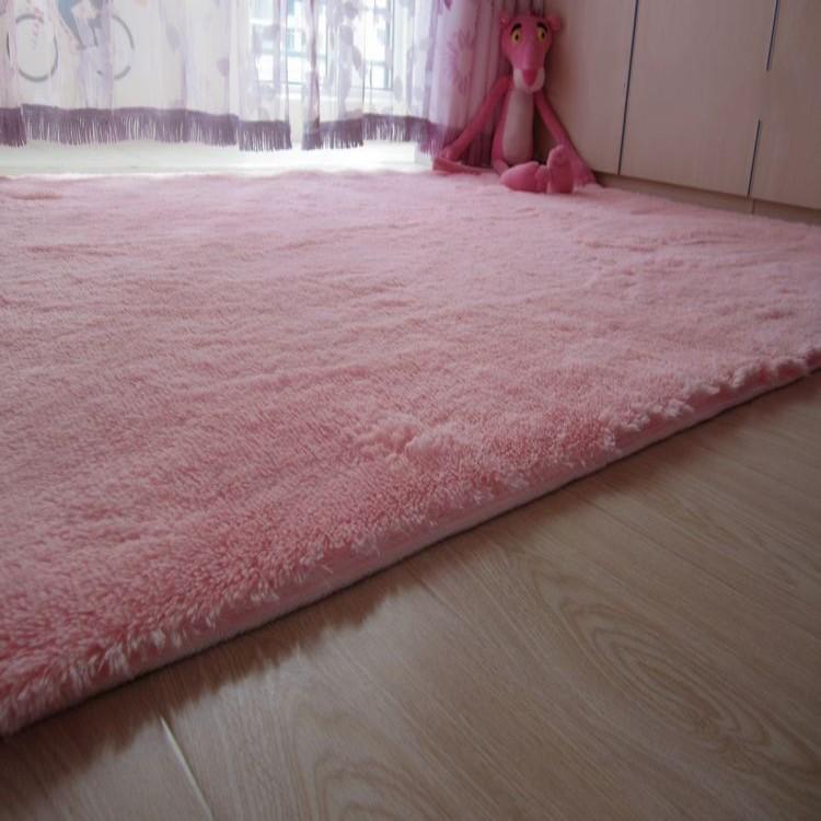 пушистые коврики в комнату своими руками