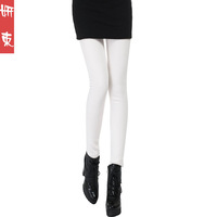 2013 autumn and winter thickening plus velvet legging plus size female thermal pencil pants trousers