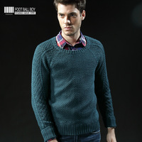 Fashion new arrival  men's clothing o-neck sweater coat  2013