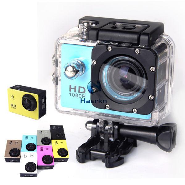 Neue 12mg full hd 1080p mini Auto DVRs Sport-Action helmkamera dvr GoPro videokamera camcorder wasserdicht 30m extreme sj4000
