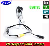 1/3 CCD JYA6006 Waterproof Bullet Mini hidden Wide dynamic Motion Detenction OSD Menu camera
