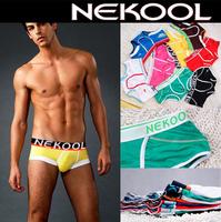 FREE SHIPPING Nekool male 100% t8013 cotton trunk