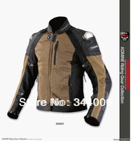 2013 The New KOMINE JK-700 titanium mesh cloth racing suits motorcycle clothing distribution to eight sets of protective gear