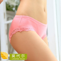 Modal cotton panties 100% cotton panties panty seamless underwear panty women's sexy butt-lifting