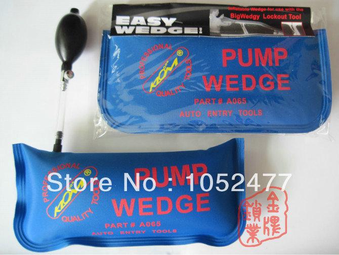 3 pcs Brand New KLOM ( Big Size ) Air Wedge Locksmith Tools Car/Auto Door Opener Locksmith Supplies(China (Mainland))
