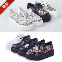Hot-selling 2013 vivi HARAJUKU platform shoes single shoes women's shoes fashion vintage fashion platform