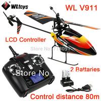 4CH 2.4GHz Mini Radio Single Propeller RC Helicopter,Gyro WL V911 RTF,Drop Free Shipping