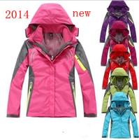 2014 winter jackets brand for women suits cowards tops coats jeans outdoor sport ski mountaineering climbing waterproof jacket