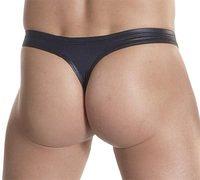 Men's Faux Leather Underwear Thongs,Sexy Styles,Moq 1 Pcs.