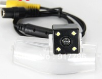Free shipping CCD with 4 LED car rear view Camera rearview parking backup for 08/09 Mazda2 / Mazda3 /NEW Mazda 3