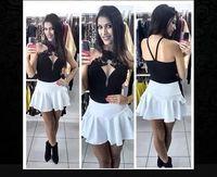 free shipping new 2014 skirt Fashion skirts women's short vintage painting print high waist bust skirt saia Women's Clothing