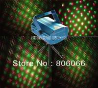 Free shipping Mini Laser Stage Lighting 150mW mini Green&Red Laser DJ Party Stage Lighting Light