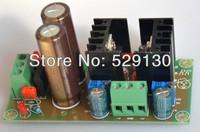 dual DC output lm317 lm337 adjustable voltage regulator power supply board E LNA 2200uf/25v