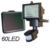 Solar LED Flood Garden Light PIR Motion Sensor 60 LEDs solar powered panel outdoor lighting Solar Street Light Wall Lamp