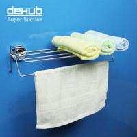 Free shipping Korea DeHUB vacuum suction waterproof bathroom towel rack towel rack stainless steel bathroom accessories