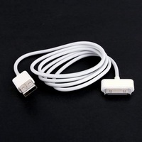 1 PCS USB Charger Cable Data Sync Cord For iPod for iPhone 4 4G 3G S for Nano Touch for Shuffle 2ND New Free Shipping