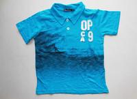 Children's clothing male child 100% cotton summer t-shirt short-sleeve