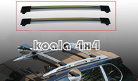SRX Roof Rack with two keys aluminum
