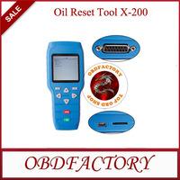 New 2014 Original Oil Reset Tool X-200 X200 Tools Electric obd2 Auto Diagnostic Tool