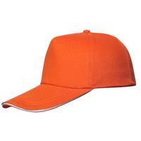 New Blank Curved Plain Baseball Cap Visor Hat Velcro Solid Color Adjustable
