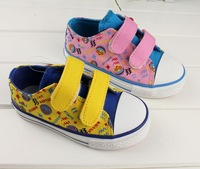 Warrior children shoes canvas shoes male child girls shoes velcro child cartoon canvas shoes 86015