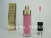 Free shipping HK Post (12pcs/lot) Brand name CC rouge allure extrait de gloss make up lipgloss with big logo high quality