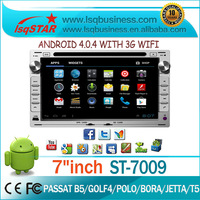 LSQ Star Aftermarket 7 Inch For Vw Jetta Car Radio 1999-2005 Android 4.0 System With+swc+atv