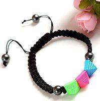 New-arrived Fashion colourful woven bracelet SL-71451
