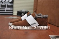 The new add wool warm winter men's shoes USES fashionable men's wool board han edition shoes casual shoes