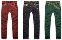 Hot sale spring male casual pants men's clothing male trousers slim casual men pants fashion classic men pants