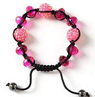 Fashion and beautiful crystal woven bracelet SL-71449