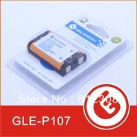 500pcs GLE Logo Wholesale Rechargeable Battery 650mAh 3.6V Cordless Phone Battery Connector NI-MH HHR-P107 GLE P107