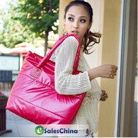 Free shipping Winter Cotton Handbag Fashion Women handbag shoulder bags 9 color #2026