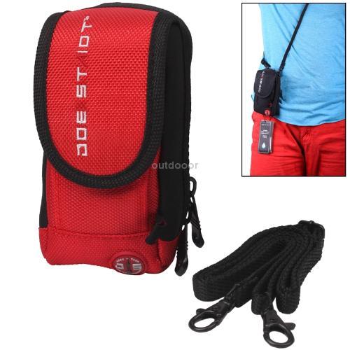 Bike Bag Multifunction Waterproof Univesal Mobile Phone MP3 Money Storage Bag for Cycling Red(China (Mainland))