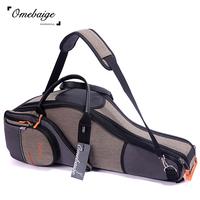 Retinue omebaige quality e alto saxophone box e alto saxophone bag copper woodwind musical instrument bags