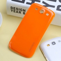 Brand New Fashion Colorful Back Cover for Samsung Galaxy S3 i9300 Case Battery Door Case Cover Housing, Free Shipping!