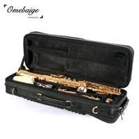 Quality split omebaige b straight pipe soprano saxophone bag packing backpack
