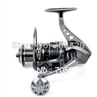 Original TOKUSHIMA HK6000 5.5:1 13+1 Ball bearing Parallel line winding spinning fishing reels,415g,fishing tackle,Free shipping
