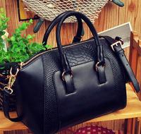 2014 New Fashion Hot Sale casual leopard print bags one shoulder handbag women's handbag leather messenger bag