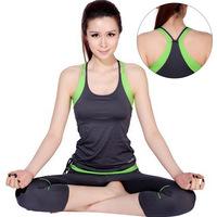 High temperature yoga clothes set fitness clothing aerobics clothing female yoga