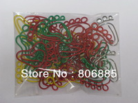 Free shipping+Guarantee 100% Genuine vinyl wrapped wire,0.9/1.2mm dia., Foot shaped paper clip packs+Free custom shapes